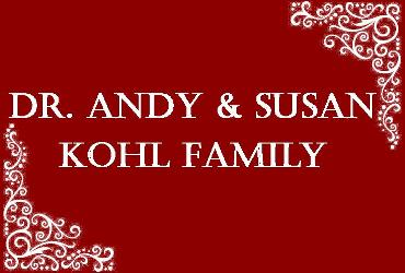 Andy & Susan Kohl Family